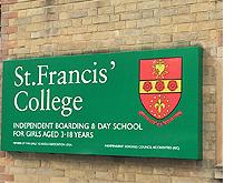 St Francis' College, Сэнт Фрэнсис, Частная школа в Англии