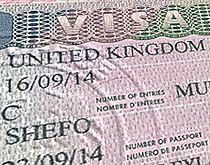 Виза в Великобританию Visa to the UK
