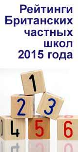 Рейтинги Британских частных школ 2015