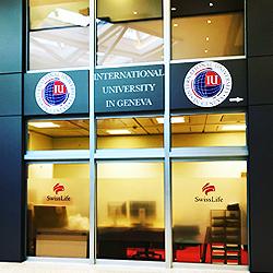 International University in Geneva частный университет в Швейцарии в Женеве